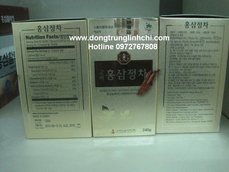Sản phẩm lọ cao Hồng Sâm Bio chính hiệu tốt nhất Hàn Quốc