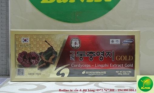 Hình ảnh sản phẩm Cao Đông trùng Linh chi nhập khẩu Hàn Quốc