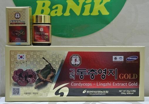 Hình ảnh sản phẩm Cao Linh chi Đông trùng hạ thảo nhập khẩu Hàn Quốc, pocheon, 8809191147264, cao linh chi, cao đông trùng hạ thảo