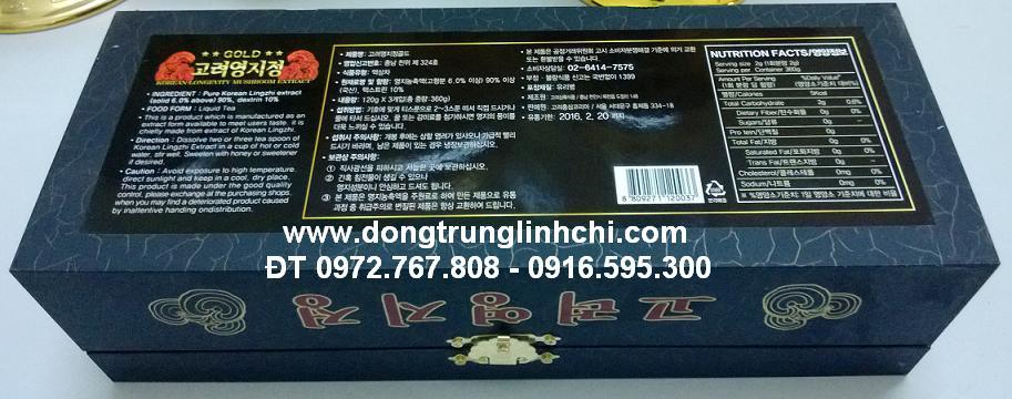 Hộp gỗ đen cao Linh Chi Hàn Quốc- hình 3