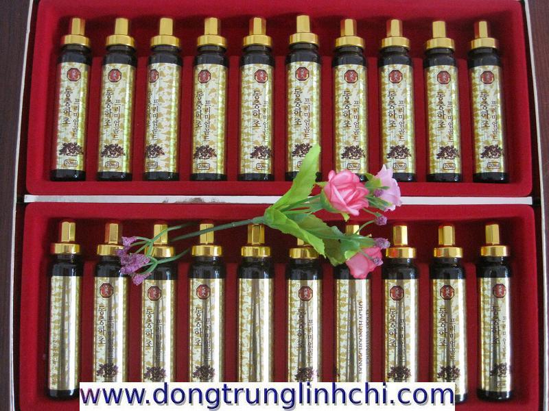 Hình 3- Sản phẩm Nước Đông Trùng Hạ Thảo Hàn Quốc