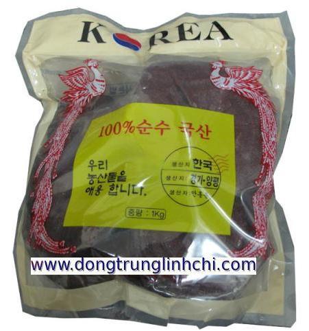 Nấm Linh Chi phượng hoàng đỏ Hàn Quốc loại túi cứng- hàng chuẩn
