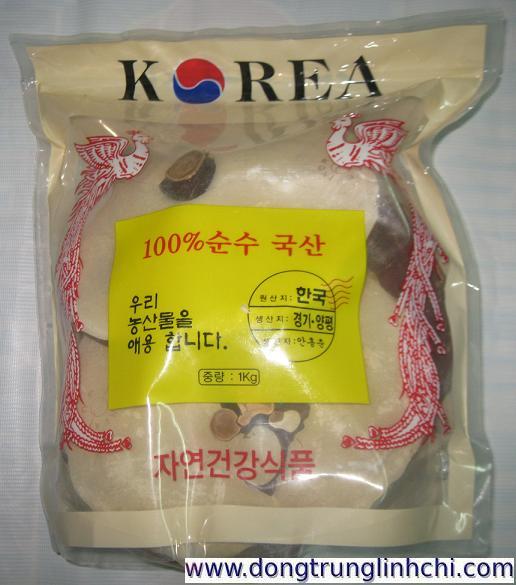 Túi Nấm linh chi phượng hoàng đỏ Hàn Quốc loại túi mềm