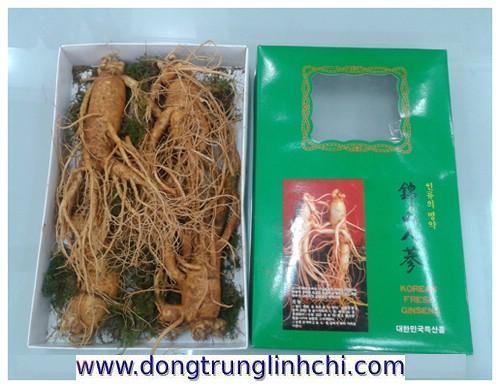 Sâm củ- nhân sâm tươi Hàn Quốc loại 1kg/4củ giao hàng tận nhà 0972-767808