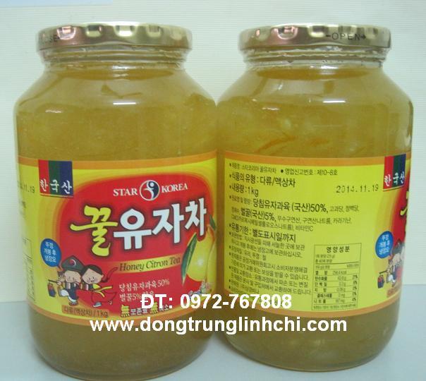 Hình ảnh lọ mật ong chanh hàn quốc loại 1kg